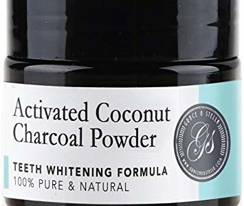 Charcoal Teeth Whitening Powder | 100% Organic & Natural | Safe & Effective Whitener for Normal &… Review