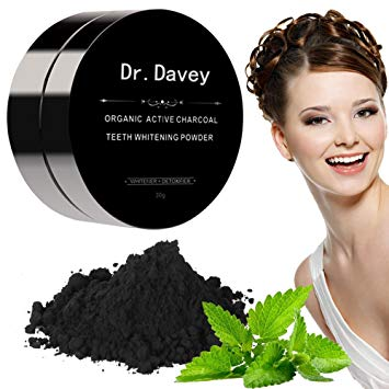 Activated Charcoal Teeth Whitening Powder Made with Organic Coconut shell - Wintermint (30g)
