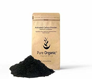 Activated Carbon Charcoal Powder (2 lb (32 oz)) All Natural Teeth Whitening, Detoxifier, Food… Review